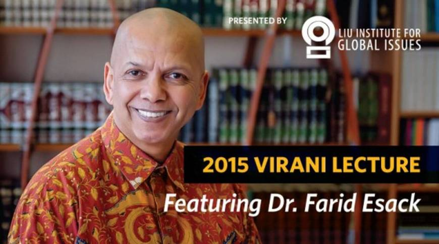 UBC 2015 Virani Lecture (endowed by Amir and Yasmin Virani) features South African Muslim Scholar Dr. Farid Esack