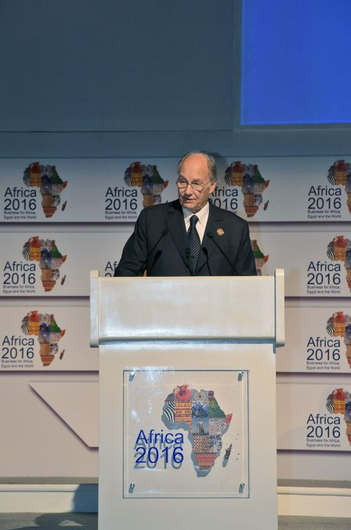 "Keynote Address by His Highness the Aga Khan at the ""Africa 2016: Business for Africa, Egypt and the World"" conference"