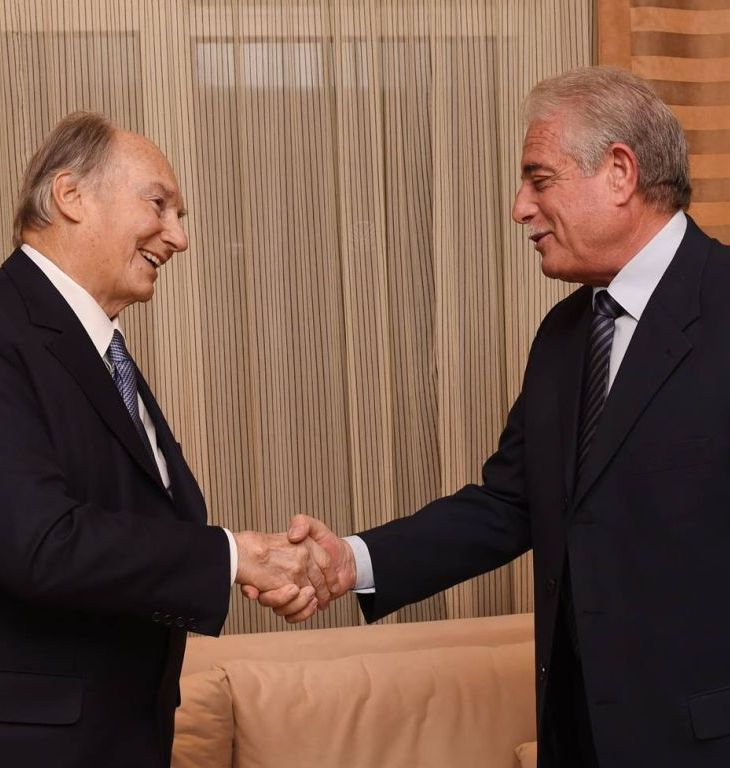 His Highness the Aga Khan arrives in Sharm el-Sheikh, Egypt
