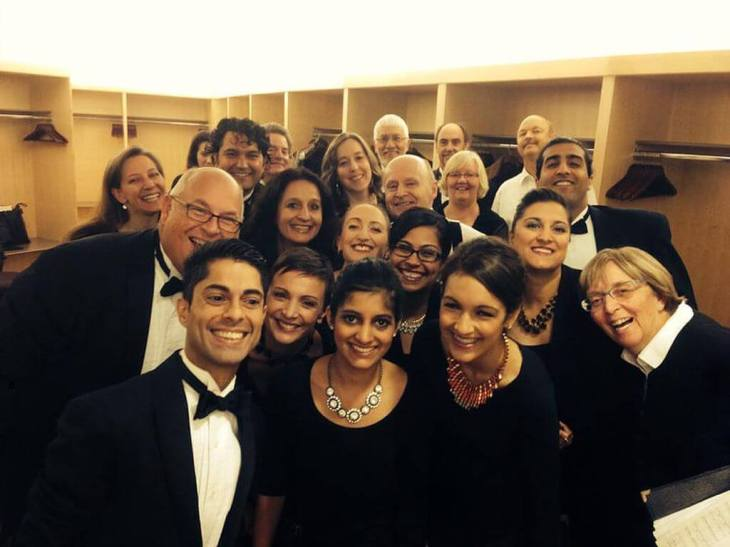 The Elmer Iseler Singers to perform a selection from Hussein Janmohamed's piece 'Nur: Reflections on Light'
