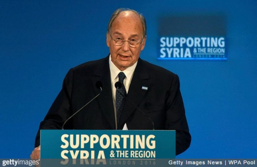The Aga Khan deplores devastation in Syria, calls for Islands of Stability