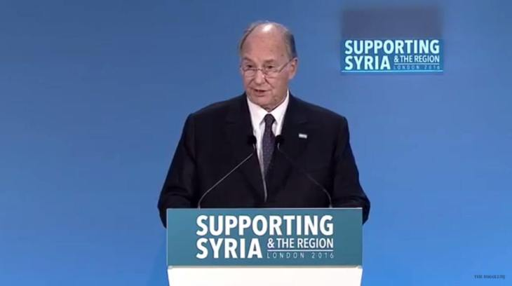 His Highness the Aga Khan's statement to the Supporting Syria and the Region Conference