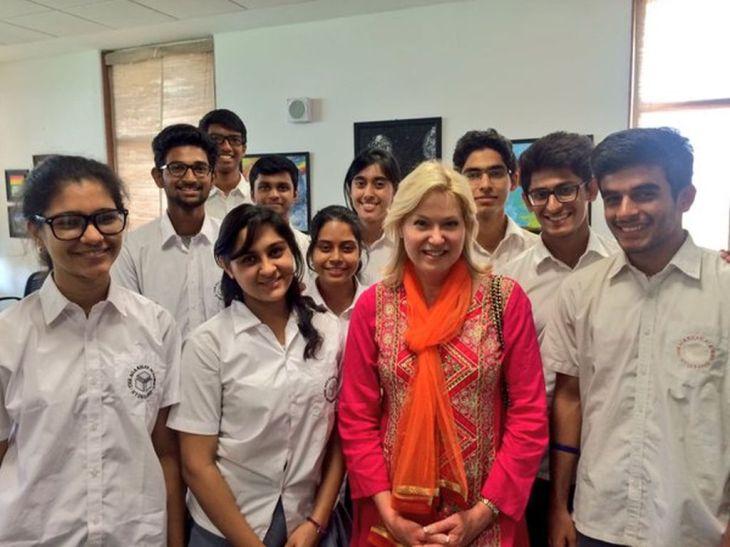 Canadian Government Ontario, Leadership, Academia and Press visit Aga Khan Academy, Hyderabad, India