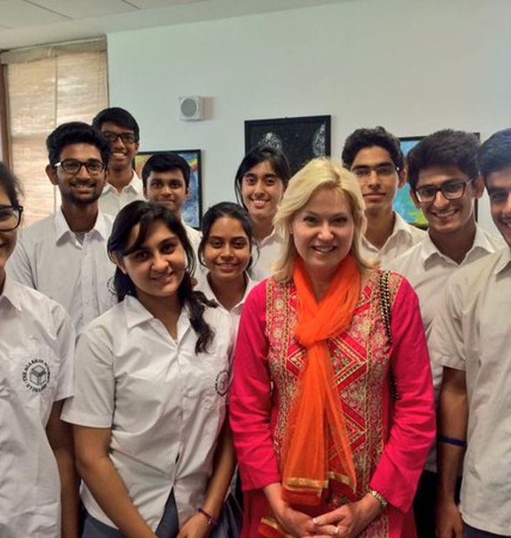 Canadian Government Ontario, Leadership, Academia and Press visit Aga Khan Academy, Hyderabad, India