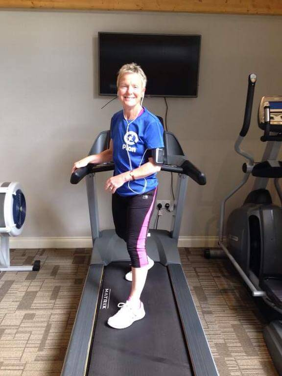 Gill laces up her trainers for charity marathon challenge