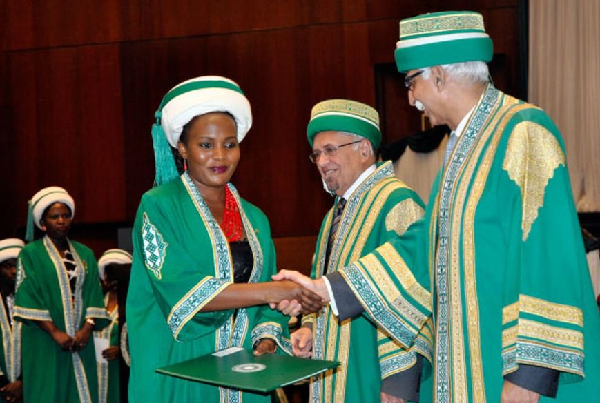 Aga Khan graduates urged to change society