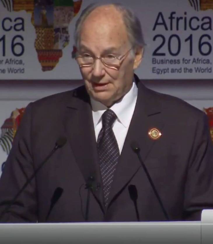 Video: Keynote Address by His Highness the Aga Khan at the Africa 2016 Conference