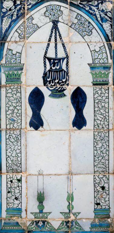 Mihrab panel, 1574, Syria. Aga Khan Museum
