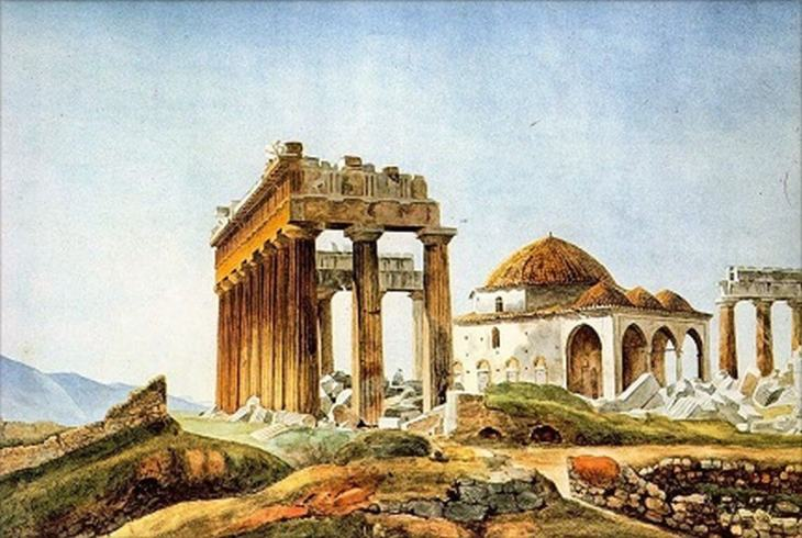 Aga Khan University Institute for the Study of Muslim Civilisations presents: Elizabeth Key Fowden's lecture on the Parthenon Mosque