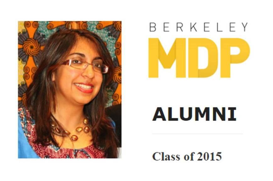 University of California, Berkeley's Master of Development Practice Alumni Profile: Narissa Allibhai
