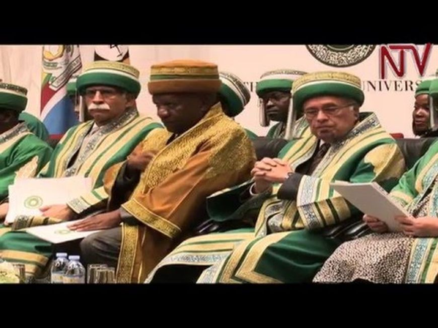 NTV Uganda Video Report: 78 graduate from Aga Khan University