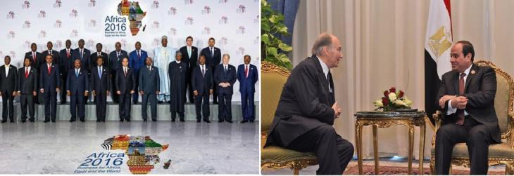 Egypt's President Abdel-Fattah El-Sisi hails AKDN projects as he meets His Highness Prince Karim Aga Khan