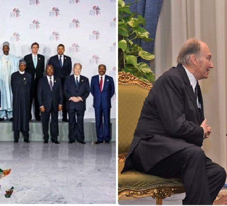 Egypt's President Abdel-Fattah El-Sisi hails AKDN projects as he meets His Highness Prince Karim Aga Khan