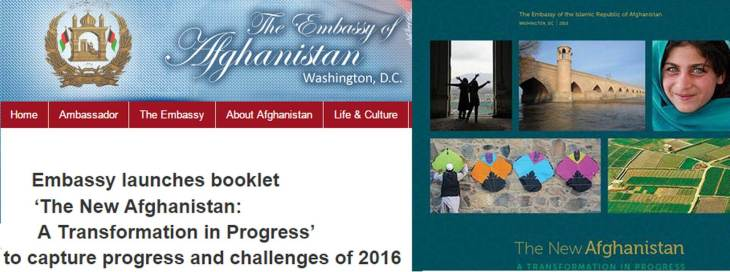 Afghanistan's Embassy in USA publication profiles the French Medical Institute for Children, an Afghan-French-AKDN partnership