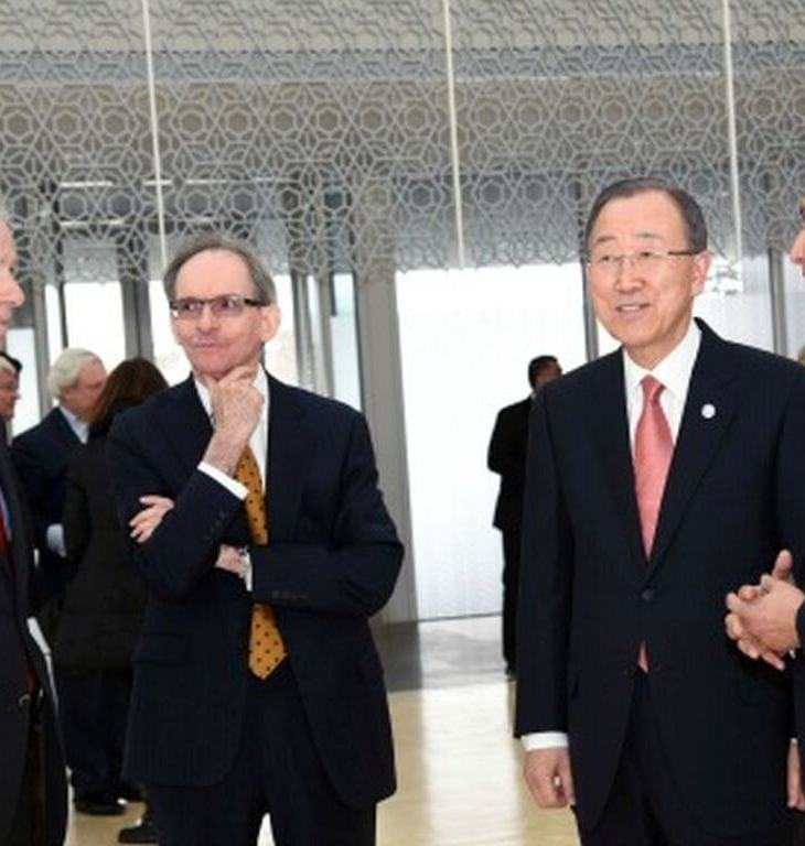 United Nations Secretary-General Ban Ki-moon visits the Delegation of the Ismaili Imamat | Global Centre for Pluralism