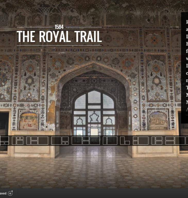 Google Cultural Institute: The Royal Trail (Shahi Guzargah) Walled City of Lahore