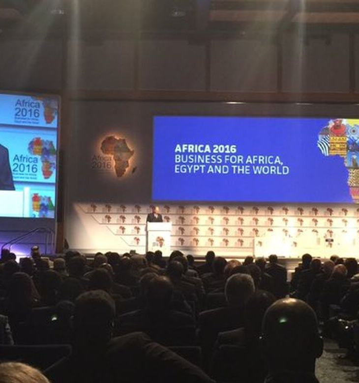 His Highness Prince Karim Aga Khan delivers the Keynote Address at the Africa 2016 Forum