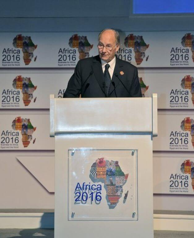 Aga Khan says: Africa's moment has come citing success of the Arusha Accord, Tunisian Constitution & courageous response to the Ebola crisis