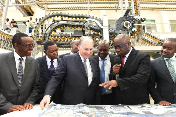 Aga Khan Extols a Free and Responsible Media while Opening New Printing Plant in Kenya
