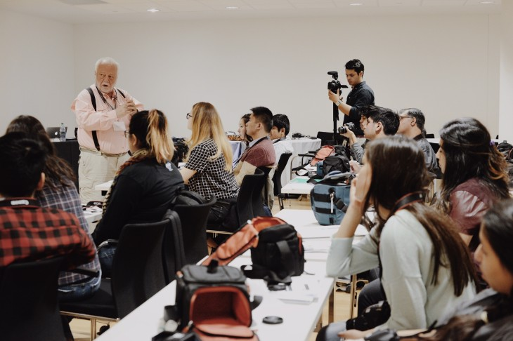 Fredric Roberts Photography Workshops at the Aga Khan Museum: Toronto, Day 2: Photography Workshops