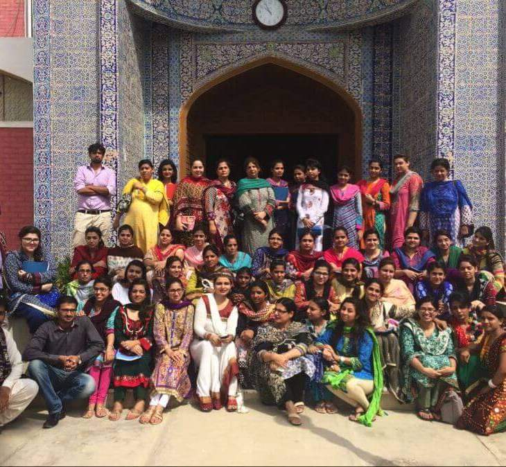 Shenila Khoja-Moolji's project 'Decolonizing Teacher Education' wins the Best Field-Based Initiative Award
