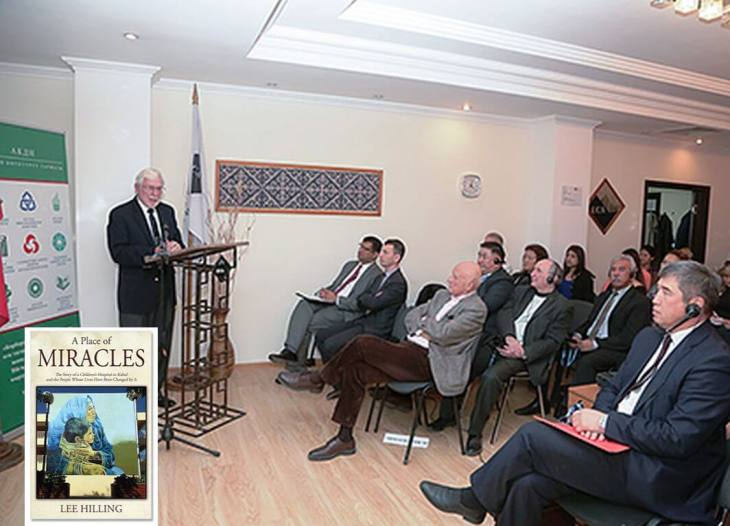 University of Central Asia hosts presentation on 'A Place of Miracles: The Story of a Children's Hospital in Kabul'