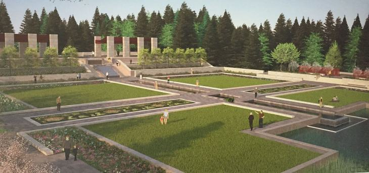 Edmonton's future park by the Aga Khan Trust for Culture