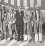 A group of Ismaili leaders at the Diamond Jubilee celebrations in Karachi. (Photo: The Ismailis: An Illustrated History)