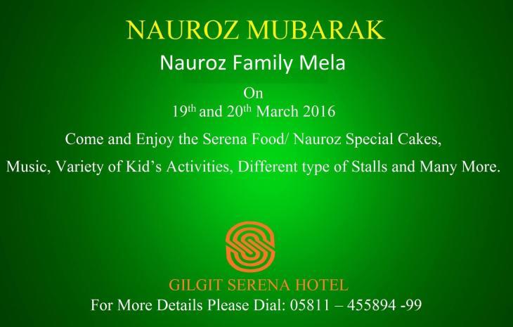 Navroz Family Mela at Gilgit Serena Hotel