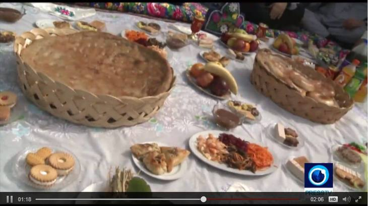 Tajiks prepare special dishes for Navroz