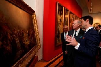 Prince Amyn Aga Khan presents 200,000 euros to acquire Sequeira masterpiece 'Adoration of the Magi' securing Portuguese cultural assets for the National Museum of Ancient Art