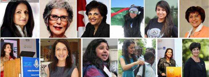 In Honor of International Women's Day (March 8) - 12 Inspiring Ismaili Women