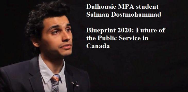 Vote & Support: Salman Dostmohammad - Best 2016 Student Paper, Dalhousie University