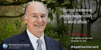 Impact & Relevance: Spiritual Leadership implies responsibility in world affairs