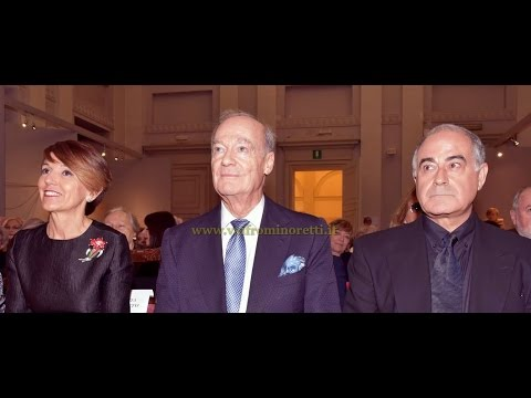 "More Photographs: Prince Amyn Aga Khan receives the ""Honorary Academician"" by the Accademia Albertina"