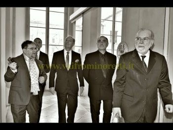 "Photographs: Prince Amyn Aga Khan receives the ""Honorary Academician"" by the Accademia Albertina"