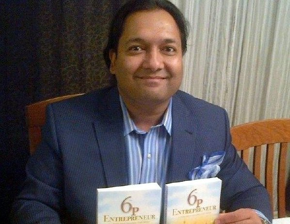 Author of 6p Entrepreneur, Hussein K. Bawa to promote and discuss his book at Indigo Chapters
