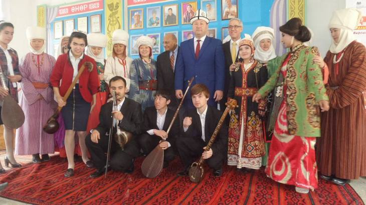 Aga Khan Music Initiative: Kyrgyz-Tajik friendship festival and Navruz celebration in Batken