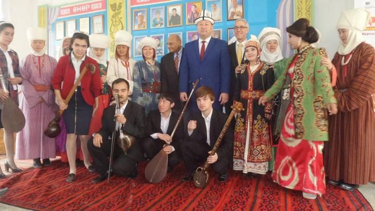 Aga Khan Music Initiative: Kyrgyz-Tajik friendship festival and Navruz celebration in Batken
