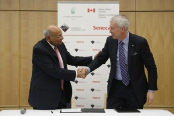 Seneca College of Canada to Award Scholarships to University of Central Asia Students
