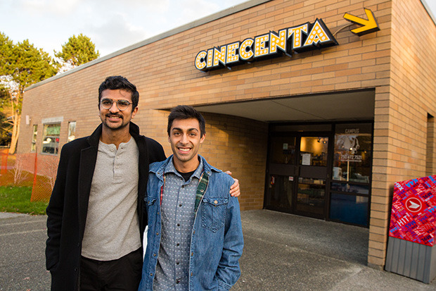 Film festival comes into focus for University of Victoria students Tahir Chatur and Moiz Karim