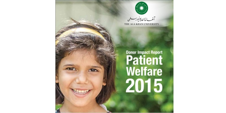 Aga Khan University Hospital Patient Welfare Assistance Report for 2015