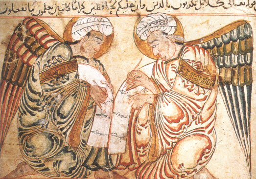 Miniature from 'The Wonders of Creation,' Wasit, Irag, 1280. Image: Islam Art and Architecture
