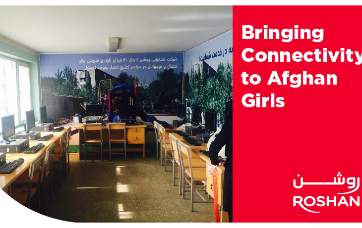 Bringing Connectivity to Afghan Girls | Roshan Telecom