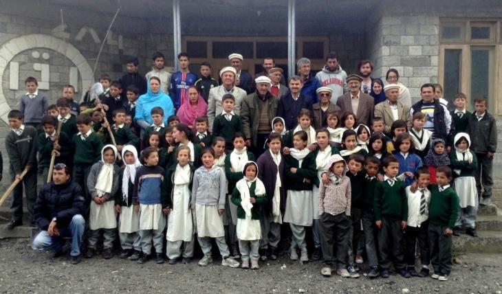 Tree Plantation at Aga Khan Diamond Jubilee School Passu