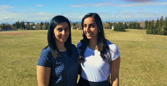 Sisters Nabeela and Safia Nathoo start new graduate scholarship