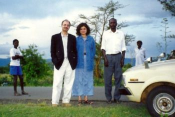 The siblings' parents, Zaher and Naila Juma, seen in the countryside of Kericho, Kenya, are fourth-generation Indian Kenyans whose ancestors can be traced back to Gujarat. Today, Zaher and Naila live in Thornhill, where Jamil and Alia return for visits at least once a year.