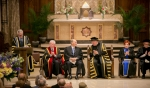 The convocation of the Pontifical Institute of Mediaeval Studies took place at St Basil's Collegiate Church in Toronto. Mr. David Mulroney, President of the University of St. Michael's College and former Ambassador to the Republic of China delivered the citation. AKDN / Mo Govindji