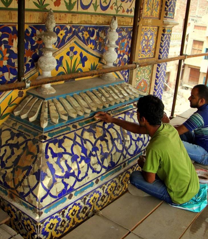 Conservation of Wazir Khan Masjid begins in Lahore