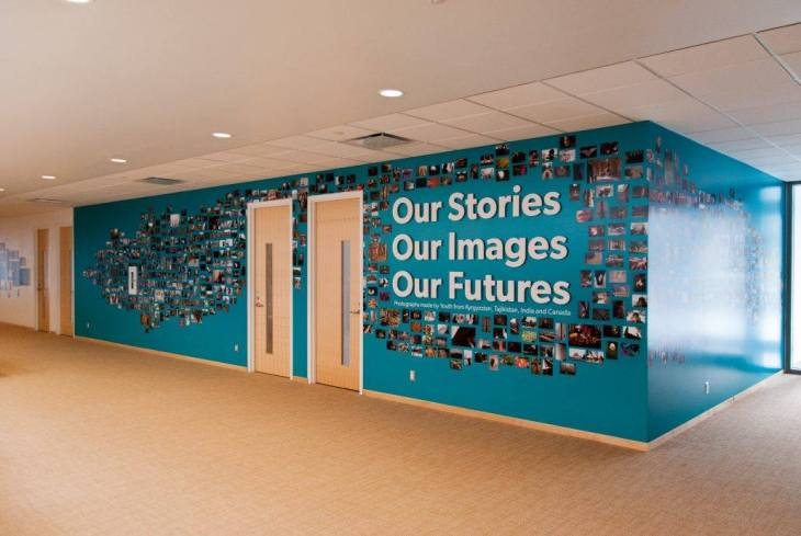"Last chance to see the exhibition ""Our Images"" at the Ismaili Centre, Toronto"